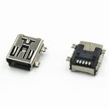10Stk. Neu Mini USB  5 pin 5-Pin Female Socket Connector