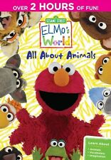 Sesame Street: Elmo's World: All About Animals (2014, REGION 1 DVD New)