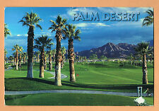 PALM DESERT Golf Course California CA Used Postcard