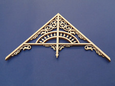 Dollhouse Miniature 1:12 Scale Victorian Gable 12/12 Roof Pitch