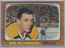 1966-67 O-Pee-Chee Hockey #98 Bob Dillabough Boston Bruins EX