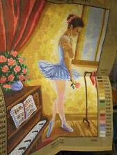 Ballerina Collection D'Art Needlepoint Canvas #10369- 30x40 cm/12x15.75 Inches