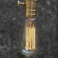 Edison Vintage Antique ST64 220V/40W E27 Light Ceiling Glass Bulb Droplight*