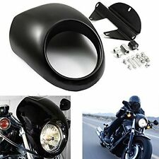 Sportster Fairing Screen Motorcycle Front Headlight Fairing Visor Mask Custom