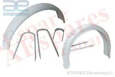 NEW FRONT & REAR MUDGUARD FENDER SET WITH STAY BMW R26 R27 MOTORCYCLES @ECspares