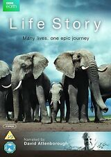 LIFE STORY David Attenborough BBC Earth Series  2 discs NEW SEALED UK R2 DVD