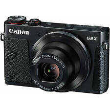 Canon PowerShot G9 X Digital Camera(Black), great case, SD card! Selling fast!