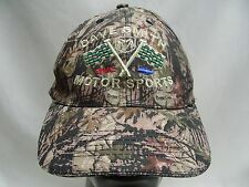 DAVE SMITH MOTORSPORTS - DODGE GMC CHEVY - CAMOUFLAGE ADJUSTABLE BALL CAP HAT!