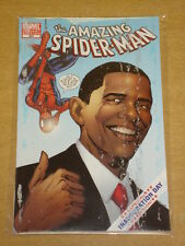 SPIDERMAN AMAZING #583 MARVEL VARIANT EDITION SPECIAL INAUGURATION DAY OBAMA (D