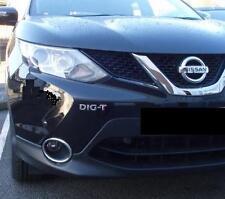 Nissan DIG-T chrome badge logo emblem Juke,Qashqai, Pulsar, Note,Micra DIGT
