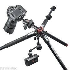Manfrotto NEW 190, MT190XPRO4, 190 Aluminum 4 Section Tripod, ExpShip