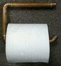 Copper Toilet Papaer Roll Holders Bathroom Eco Go Green Lot of 2