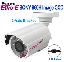 NEW 1/3 SONY 960H CCD Effio-E 700TVL NIGHT VISION OUTDOOR WIDE ANGLE CCTV CAMERA