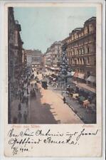 AK Wien I, Graben, Fiaker, 1900