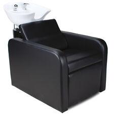 Friseurwaschsessel Friseur Waschplatz Friseurstuhl ausklappbare Fußstütze