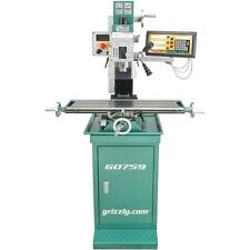 G0759 Grizzly Mill / Drill with Stand and Digital Readout