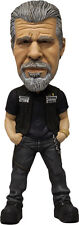 "SONS OF ANARCHY - Clay Morrow 6"" Bobble / Head Knocker (Mezco) #NEW"