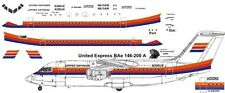 United Express  BAe 146-200 Avro RJ 85 decals for Revell 1/144 kits