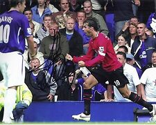 Ruud van Nistelrooy Signed 10X8 Photo Manchester United F.C. AFTAL COA (1298)