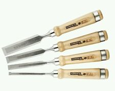 Powerfix 4 chisel set. Recommended by Paul Sellers. Lidl. FREEPOST !