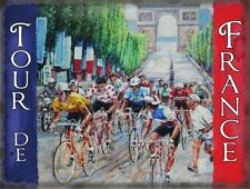 Cycling Tour de France, Cycle Racing Arch Classic Novelty Fridge Magnet