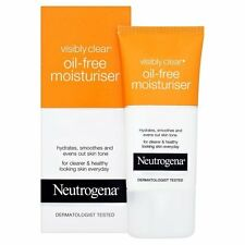 Neutrogena Visibly Clear Oil Free Moisturiser (50 ml) : Free Postage NEW
