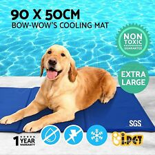 Pet Cooling Bed Gel Mat Dog Cat Non-Toxic Cool Water Pad Puppy Cold Summer XL