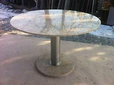 runder Esstisch Gartentisch Wohnzimmer Terrassentisch Marmor/Granit/Naturstein