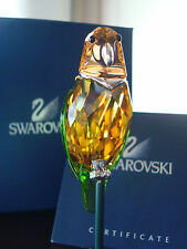 Swarovski Crystal Paradise Bebotto Bird Parrot NEW RETIRED #275574 Ultra-RARE