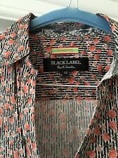 Pretty Paul Smith Black Stripe Rosebud Blouse Sz42 UK10