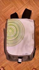 Xbox 360 Silver / White Backpack Bag Carrying Case - Excellent condition!