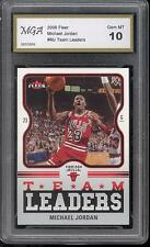MICHAEL JORDAN HOF MJ 23 45 CHICAGO BULLS BASKETBALL CARD GRADED GEM MINT 10  #8