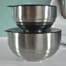 ThermoBowls - set of 2, 2.6 and 1.4 litre Stainless Steel Thermomix Thermoserver