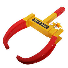 Wheel Lock Clamp Boot Tire Claw Trailer Auto Car Truck Anti-Theft Towing CA