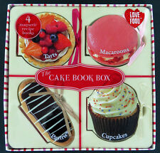 The Cake Box 4 Magnetic Recipe Books by Parragon Kitchen Gift