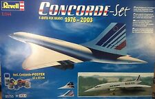 NEW 2004 Revell Air France Concorde - Set  F-BVFB FOX BRAVO 1976- 2003 (1:144)