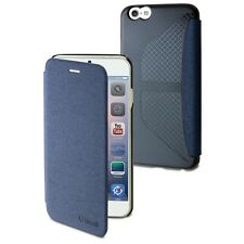 Muvit easy folio card case bleu jean pour Apple iPhone 6 plus/6S plus