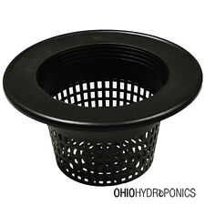 """16 Pack 8"""" inch Mesh Net Pot Lid for 3-5 GALLON BUCKETS GRO1 NOT SNAP FIT"""