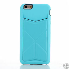Spider Designs Transformer Case with Card Holder For iPhone 5/5s Blue