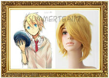 Anime Uta no Prince-sama Syo Kurusu Short Blonde COSPLAY Party Wig 94400