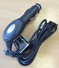 In Car Charger for TomTom Sat Nav Mini USB STRAIGHT 2M LEAD 1amp output