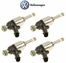 Set of 4 Fuel Injector Audi A3 Q5 Volkswagen Beetle 2.0 L4 Genuine 06H 906 036 P