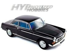 NOREV 1:18 1967 PEUGEOT 404 COUPE DIE-CAST BLACK 184778