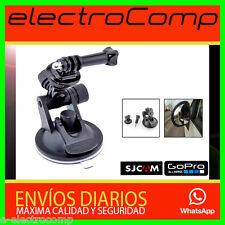 Ventosa oficial Para Cámara Go pro Hero 1/2/3/3+/4 SJ4000 Soporte Coche ESPAÑA