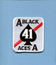 VF-41 BLACK ACES US NAVY GRUMMAN F-14 TOMCAT Fighter Squadron Jacket Patch