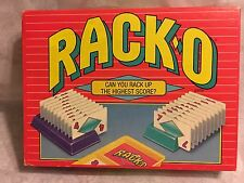 Parker Brothers Rack'O Card Game 1992 Family Game Complete Original Box