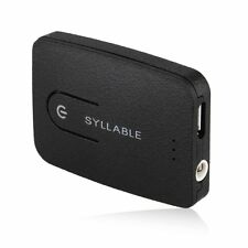 Syllable E3 multi-funktionale Bluetooth Box Transmitter  Bluetooth4.0 Schwarz ET