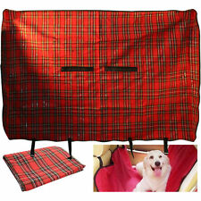 PET CAR REAR SEAT COVER WATERPROOF HEAVY DUTY BACK SEAT COVER DOG PROTECTIVE MAT