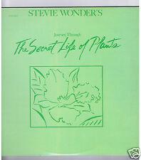 2 LPs  STEVIE WONDER SECRET LIFE OF PLANTS ( + FEUILLE NEWS PATHE)