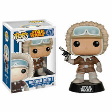 STAR WARS FUNKO POP Figurine Han Solo on Hoth 9 cm exclusive